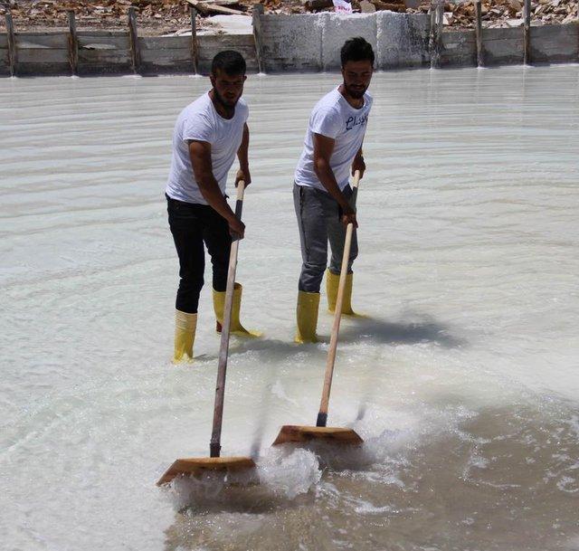 Sivas'tan İspanya'ya doğal kaynak tuzu satıyor