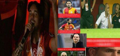 Galatasaray-Östersunds maçı sonrası 'Caps'ler