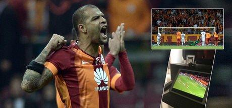 Melo'dan Galatasaray-Östersunds maçına küfürlü tepki