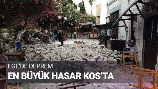 Deprem 'Komşu'yu böyle vurdu