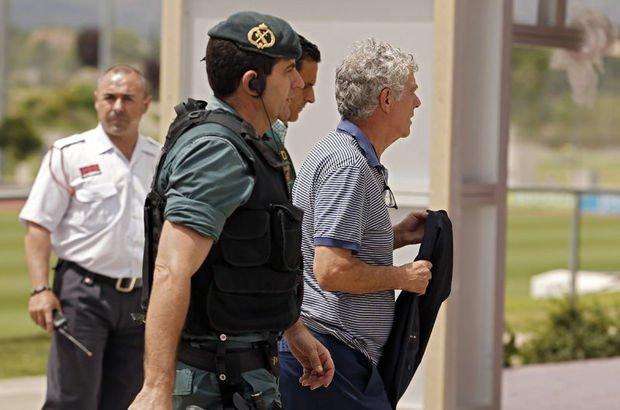 İspanya Futbol Federasyonu başkanı Villar cezaevine gönderildi