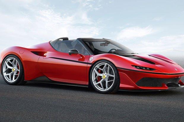 """Red Dot Tasarım Ödülleri'nde Ferrari J50'ye """"Best of the Best"""" ödülü"""