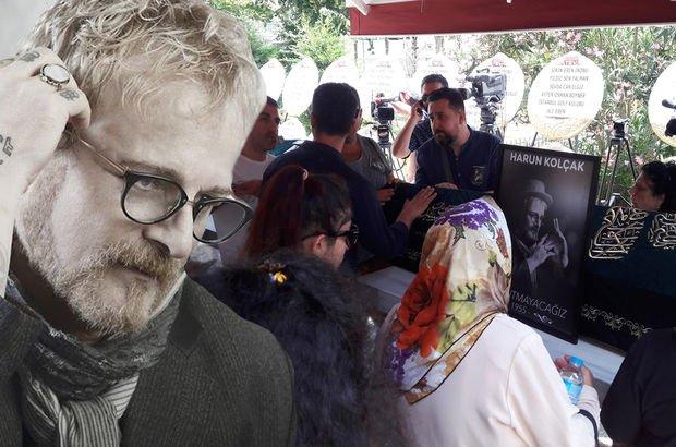 Ünlü şarkıcı Harun Kolçak son yolculuğuna uğurlanıyor