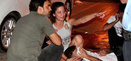 Adana'da bar çıkışı kavga