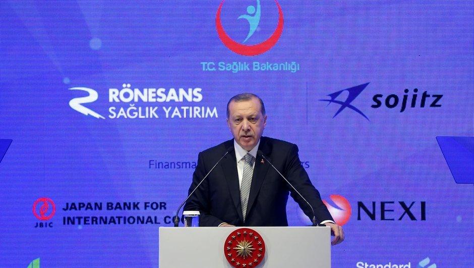 """Erdoğan: Bizi korkutmaya gücünüz yetmez"""""""