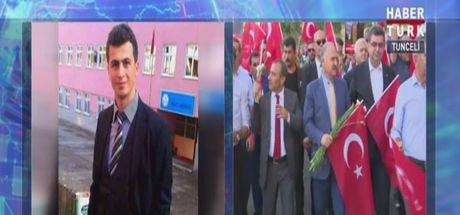 CHP'den şehit öğretmen Necmettin Yılmaz anısına Tunceli'de 'teröre lanet' yürüyüşü