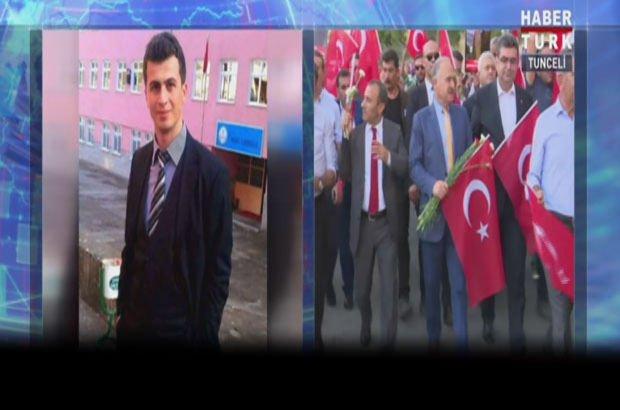 CHP'den şehit öğretmen için Tunceli'de 'teröre lanet' yürüyüşü