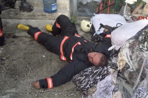 SON DAKİKA! Çatalca'da sanayi sitesinde yangın