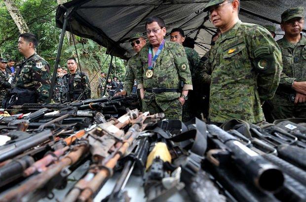 Filipinler Devlet Başkanı Rodrigo Duterte ABD