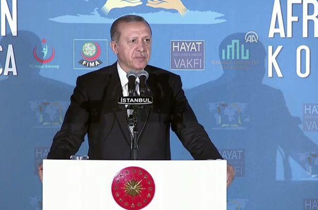 Cumhurbaşkanı Erdoğan Afrika