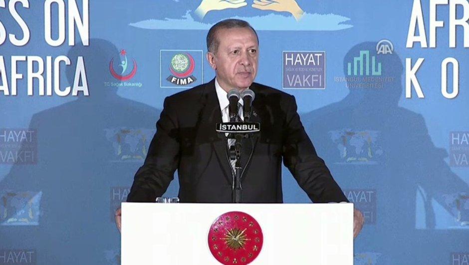 Erdoğan: İsrail Cumhurbaşkanı ile görüştüm 'Bunlara terörist diyemezsiniz' dedim