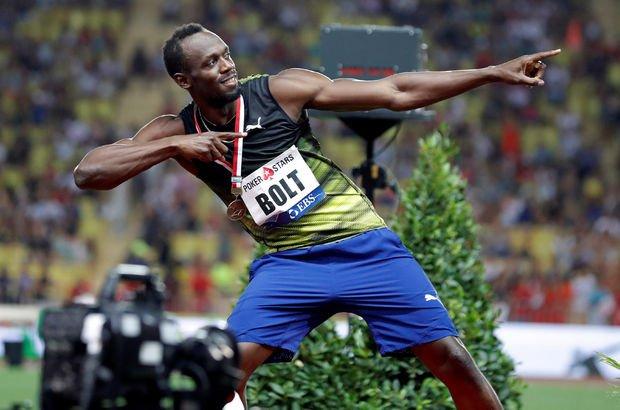 Usain Bolt Monaco