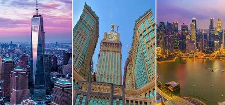Dünyanın en pahalı binaları
