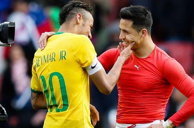 Neymar & Alexis Sanchez