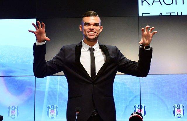 """Pepe: """"Beşiktaş'ta olmaktan dolayı çok gururluyum"""""""