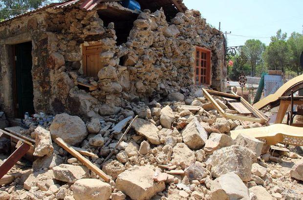 Bodrum depreminden sonra gözler binalara çevrildi
