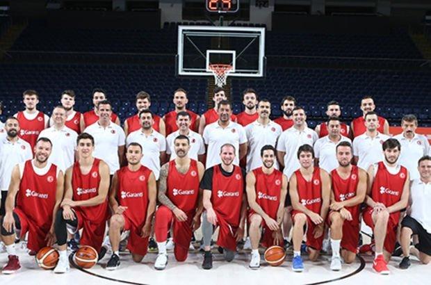A Milli Erkek Basketbol Takımı, İtalya'ya gitti