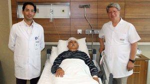 Hastaneye komada geldi, bir gün sonra yürüdü