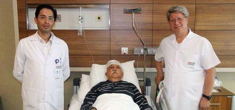 Hastaneye komada gelen Bekir Tüfekçi bir gün sonra yürüdü