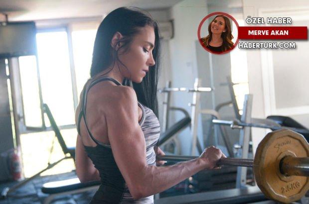 Bikini Fitness Türkiye Şampiyonu Selin Nalıncı anne olarak bu sporun içinde