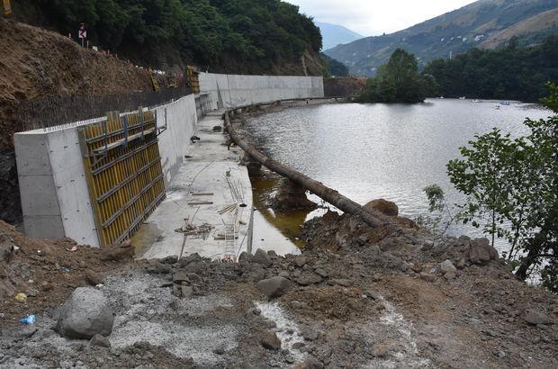 Bakan Soylu'dan Sera Gölü talimatı: Perde beton yakışmadı