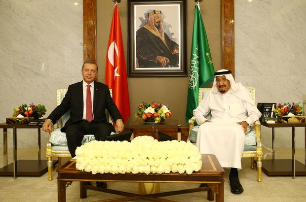 Recep Tayyip Erdoğan Suudi Arabistan Kuveyt Katar