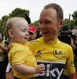 Sky takımından Chris Froome, Fransa Bisiklet Turu