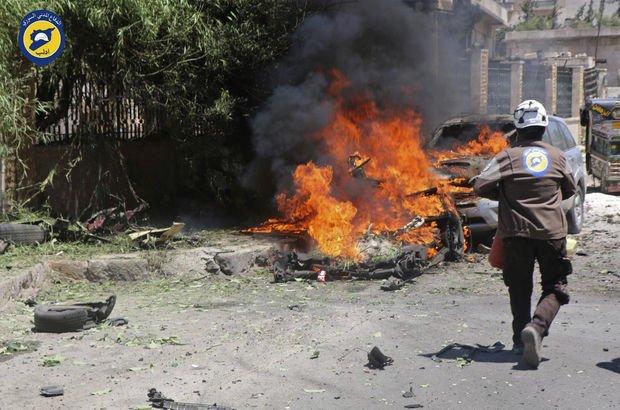 İdlib'de bombalı saldırı: 12 ölü, 20 yaralı