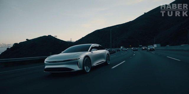 Tesla'nın yeni otonom rakibi hem çok hızlı, hem çok lüks: Lucid Air