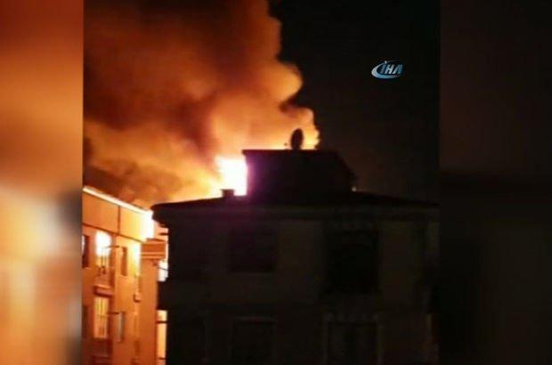İstanbul Esenyurt yangın