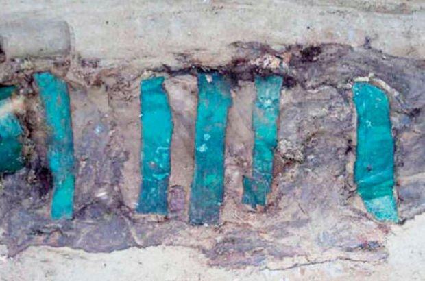 Buzun içinde yüzyıllar boyunca korunmuş