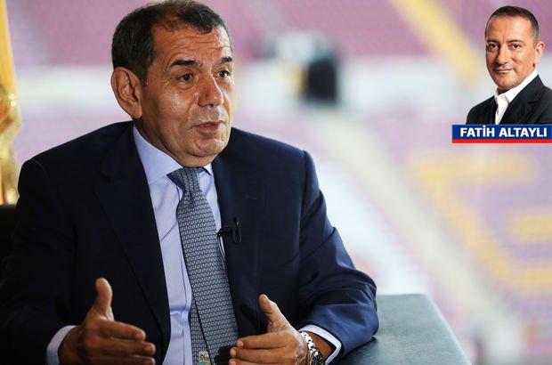 Fatih Altaylı: Dursun Özbek sonuna kadar kalmalı!