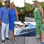 Cemiyet hayatının tekne tutkunu ünlü isimleri, önceki akşam Bodrum
