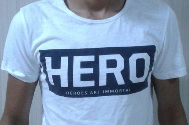 Trabzon'da Hero tişörtü giyen kişi gözaltına alındı