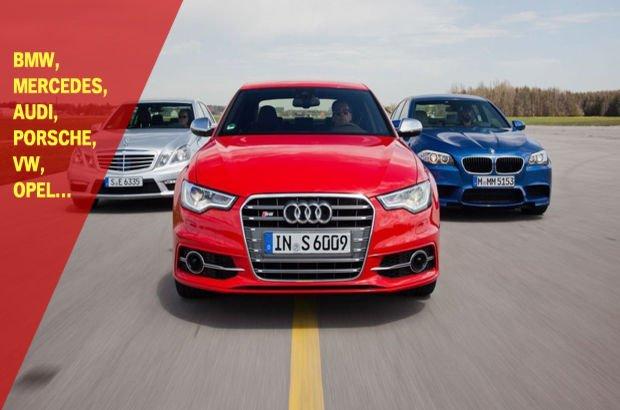 Alman otomobil markaları rekabeti engelliyor mu?