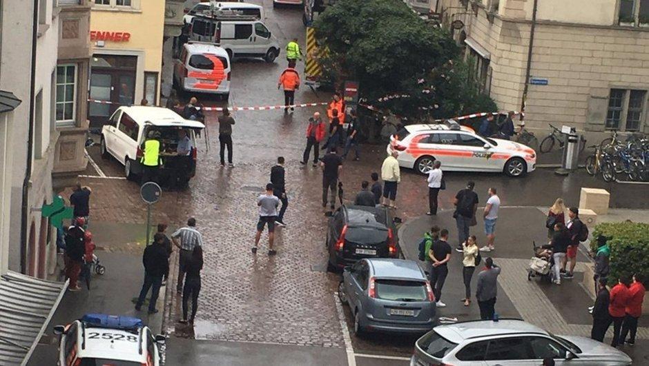 İsviçre'de elektrikli testere vahşeti! 5 kişi yaralı