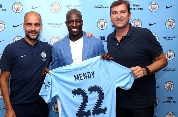 Benjamin Mendy, Manchester City'de