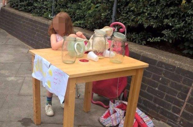 Limonata sattığı için 150 sterlin ceza yiyen 5 yaşındaki kıza onlarca iş teklifi geldi