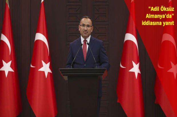 Yeni Hükümet Sözcüsü Bozdağ, kabinedeki görev dağılımını açıkladı