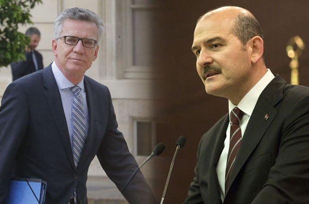 İçişleri Bakanı Süleyman Soylu, alman mevkidaşı ile görüştü