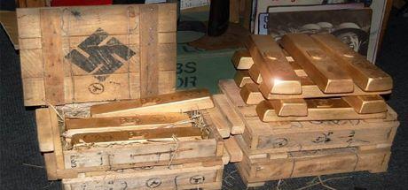 Nazilerin batırılan 4 ton altını bulundu