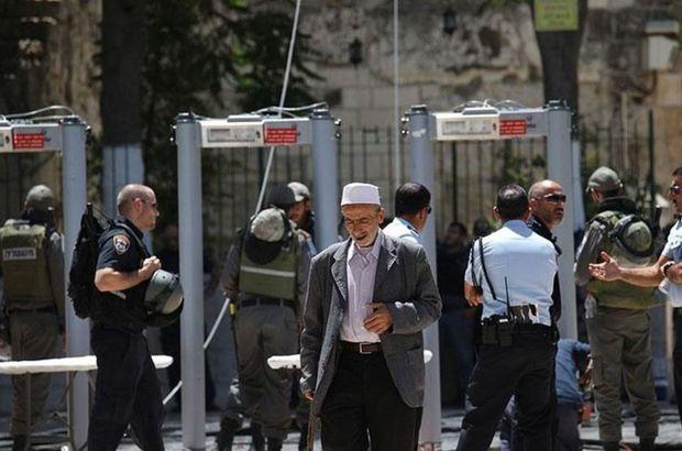 İsrail, Mescid-i Aksa'daki metal arama dedektörlerini kaldıracak