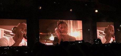 Brad Pitt'ten Frank Ocean'a konser sürprizi