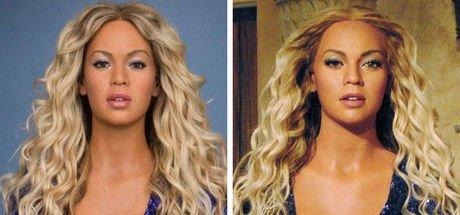Beyonce'nin heykeline rötuş