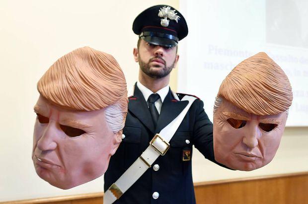 Trump maskeli soyguncu kardeşler yakalandı