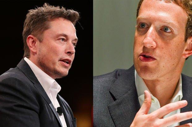 Elon Musk ve Mark Zuckerberg yapay zeka tartışmasına tutuştu