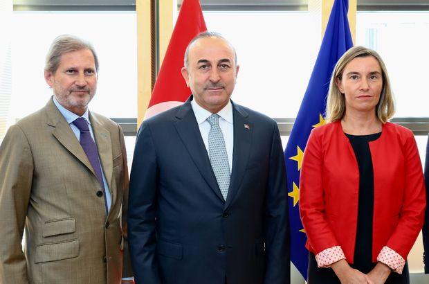 Türkiye-AB zirvesi sonrası ortak açıklama: İlişkilerimizde sorunlar var