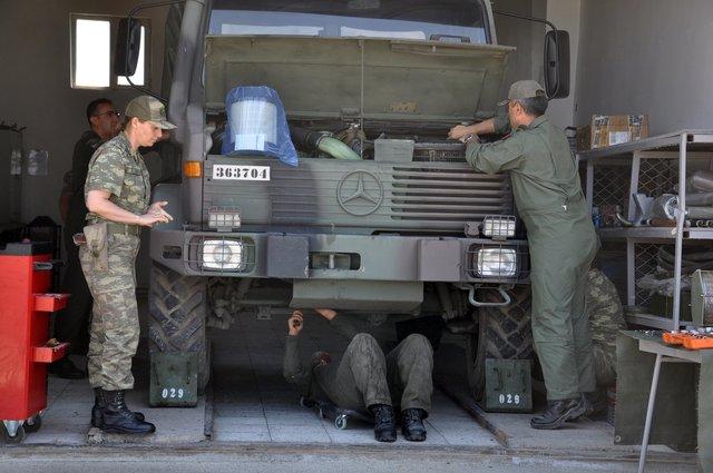 TSK'nın kadın komutanları