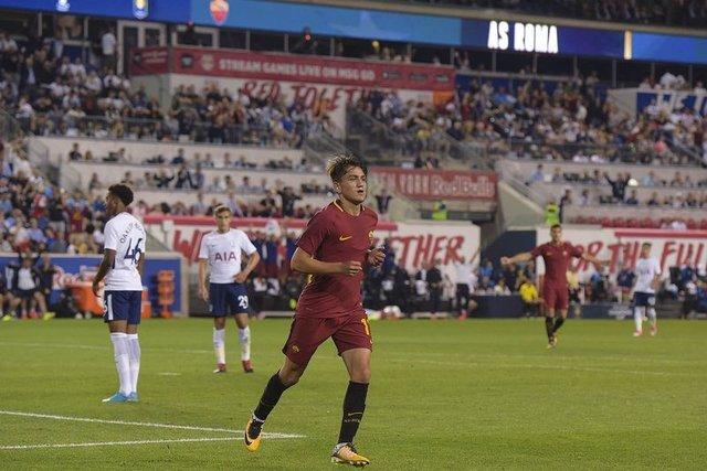 Cengiz Ünder Roma'da ilk golünü attı! Tottenham Hotspur: 2 - AS Roma: 3