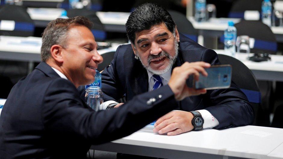 Maradona'dan 'VAR'a destek!